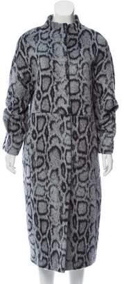Elizabeth and James Long Faux Fur Coat