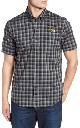 Cutter & Buck Jacksonville Jaguars - Fremont Regular Fit Check Sport Shirt