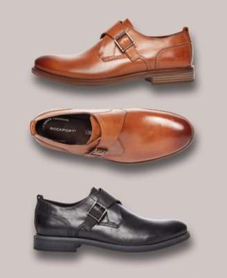 Rockport Men's Wynstin Monk Strap Oxfords, Created for Macy's
