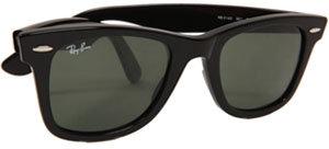 Ray-Ban Wayfarer Sunglasses in Black