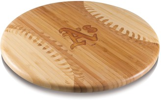 Picnic Time Oakland Athletics Wooden Cutting Board