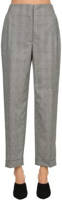 Salvatore Ferragamo Wool Prince Of Wales Pants