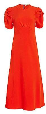 Maggie Marilyn Women's Its Up To You Puff-Sleeve Midi Dress