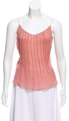 Alessandro Dell'Acqua Sheer Sleevless Blouse