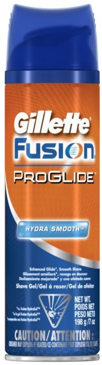Gillette Fusion Pro Glide Hydra Smooth Shave Gel