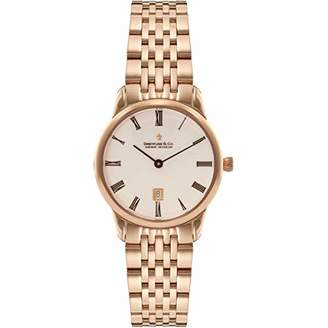 Dreyfuss & Co Dreyfuss Womens Analogue Classic Quartz Watch with Stainless Steel Strap DLB00138/41