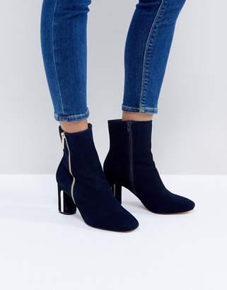 Faith Betina Metal Heeled Boots