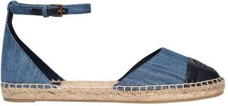Tory Burch 20mm Denim D'orsay Espadrilles