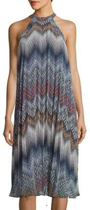 BCBGeneration Pleated Midi Dress