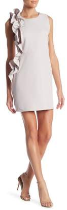 Romeo & Juliet Couture Front Ruffle Sleeveless Dress