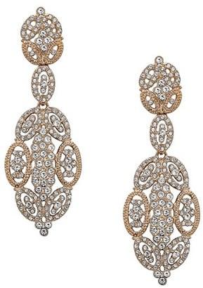 Women's Nina 'Glamorous' Crystal Drop Earrings $125 thestylecure.com