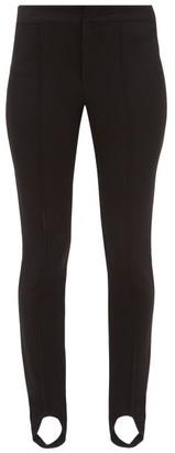 Moncler Stirrup Skinny Fit Ski Trousers - Womens - Black