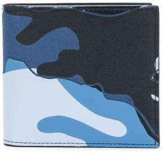 Valentino camouflage wallet
