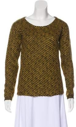 Prada Mohair-Blend Knit Sweater