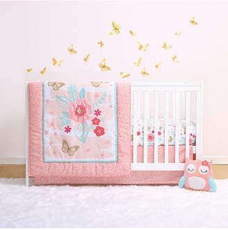 Little Haven Aflutter 4-Piece Crib Bedding Set Bedding