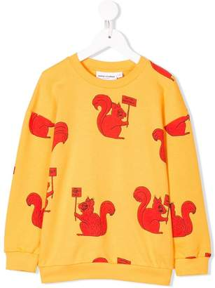 Mini Rodini squirrel print sweatshirt