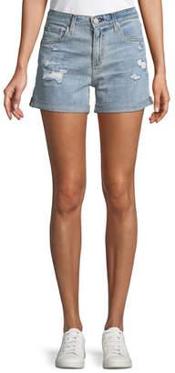 AG Jeans Hailey Ex-Boyfriend Distressed Denim Shorts