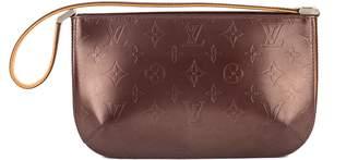 Louis Vuitton Purple Mat Monogram Leather Fowler Bag (Pre Owned)