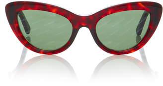 Balenciaga Sunglasses Tortoiseshell Acetate Sunglasses