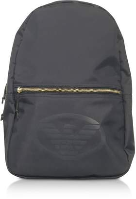 Emporio Armani Technical Fabric Backpack W/logo