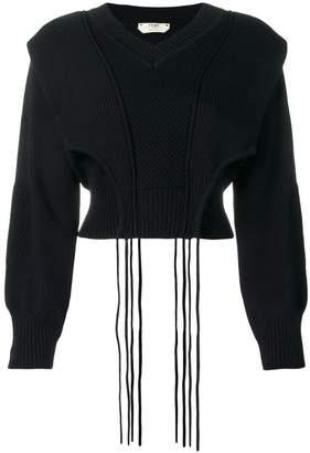 Fendi cropped sweater