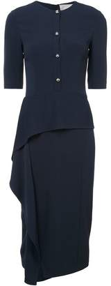 Jason Wu asymmetric buttoned dress
