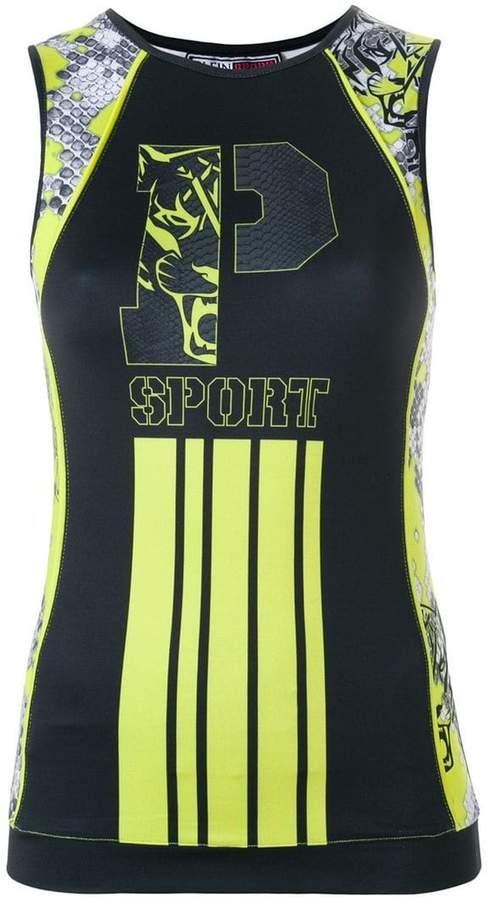 Plein Sport 'Point Line' Tanktop
