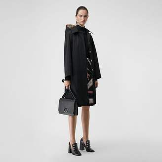Burberry Detachable Hood Oversized Car Coat
