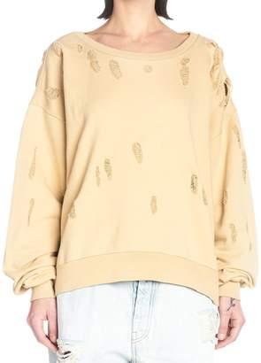 Taverniti So Ben Unravel Project Sweatshirt