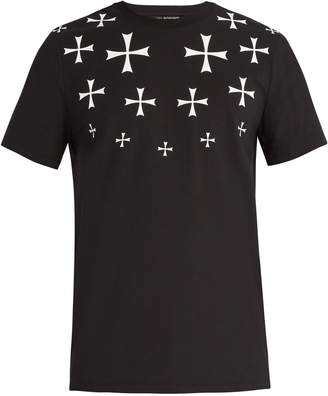 Neil Barrett Military Star cotton-blend T-shirt