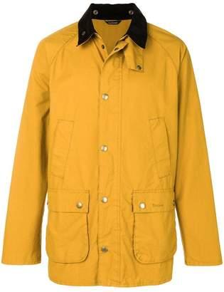 Barbour contrast collar Bedale jacket