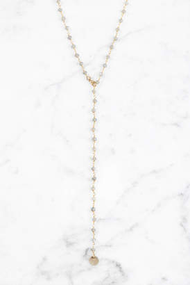 Love Poppy Rosary Chain Long Y Necklace