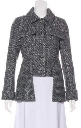Chanel Tweed High-Low Jacket
