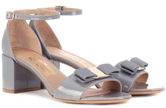Salvatore Ferragamo Gavina patent leather sandals