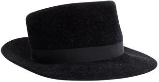 Philip Treacy Black Wool Hats & pull on hats