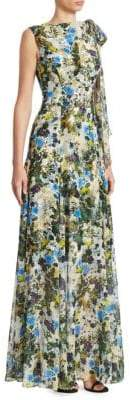Erdem Kassidy Sleeveless Gown