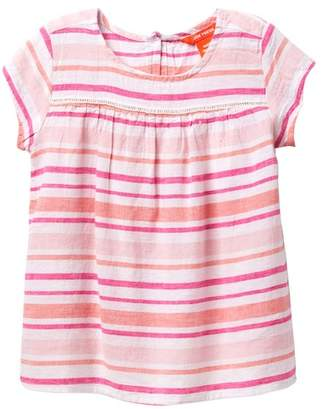Joe Fresh Empire Stripe Top (Toddler & Little Girls)