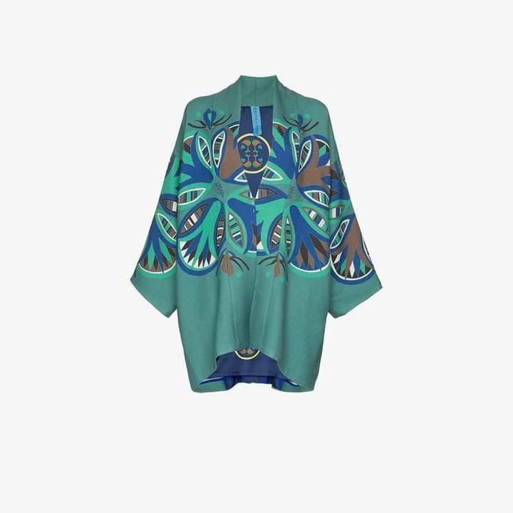 Rianna + Nina Agnes print wool jacket