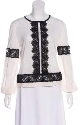 Alberta Ferretti Virgin Wool Knit Sweater