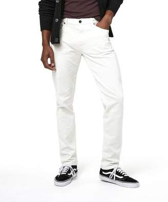 Todd Snyder 5-Pocket Garment-Dyed Stretch Twill in Off White