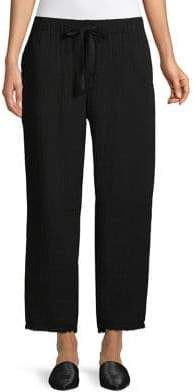 Eileen Fisher Cropped Cotton Pants