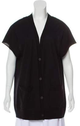 Dries Van Noten Short Sleeve Wool Cardigan