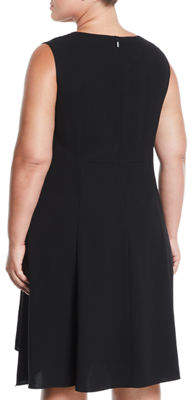 Lafayette 148 New York Romona Sleeveless A-Line Dress, Plus Size