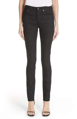 Femmes Velours Léopard Jeans Skinny Saint Laurent ZLC4yQckO
