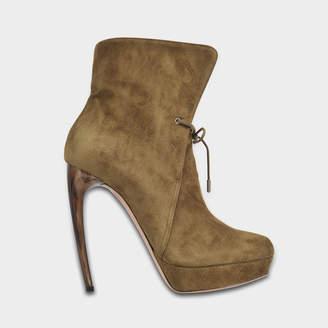 Alexander McQueen Suede ankle boots