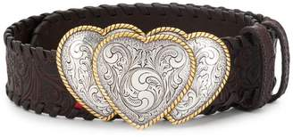 Kate Cate embossed woven belt