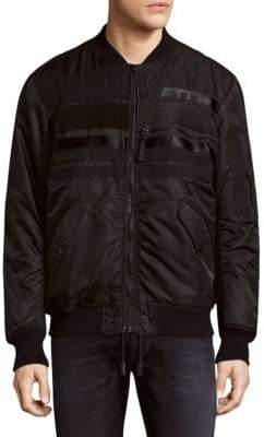 Diesel Stitch Zipped Bomber Jacket