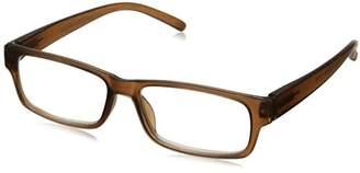 Peepers Unisex-Adult Old Fashion 2211250 Rectangular Reading Glasses