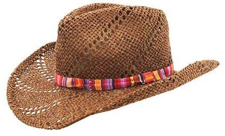 Charlotte Russe Serape Band Cowboy Hat