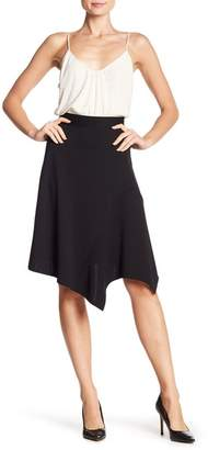 14th & Union Asymmetrical Hem Knee Skirt